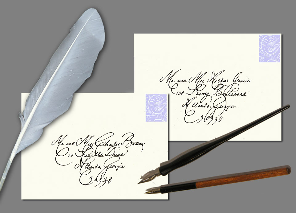 calligraphy services Calligraphy services cherish creations offers custom calligraphy for your wedding, special event, or just for fun calligraphy is no longer only for envelopes, and it adds a uniquely beautiful aspect to the written word.